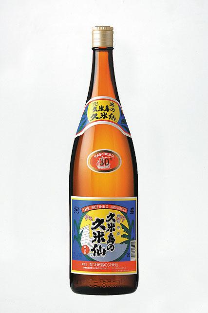 泡盛「久米島の久米仙」(グラス)