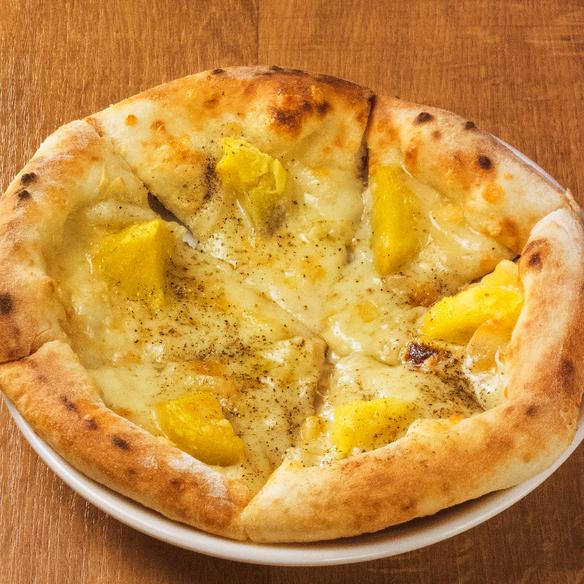 ラクレットチーズのピッツァ