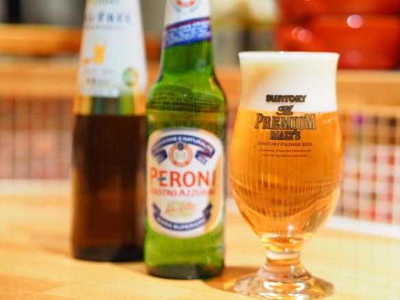 生ビールは『プレミアムモルツ』 サントリーさんから『達人店』に認定されています♪