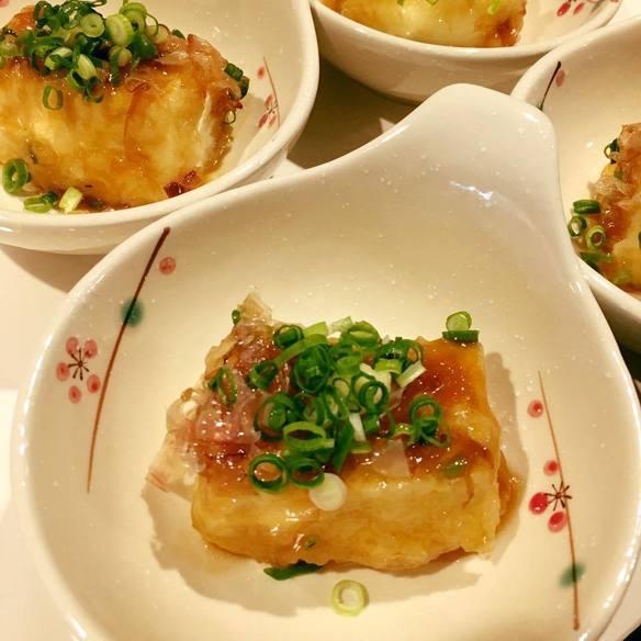 揚げだし豆腐(最近人気w)
