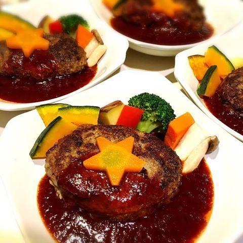 ハンバーグ(肉肉しいタイプ)(600)