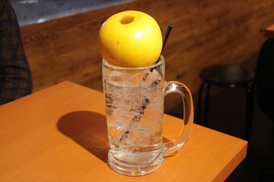 まるごとグレープフルーツサワー(599円 (税抜))