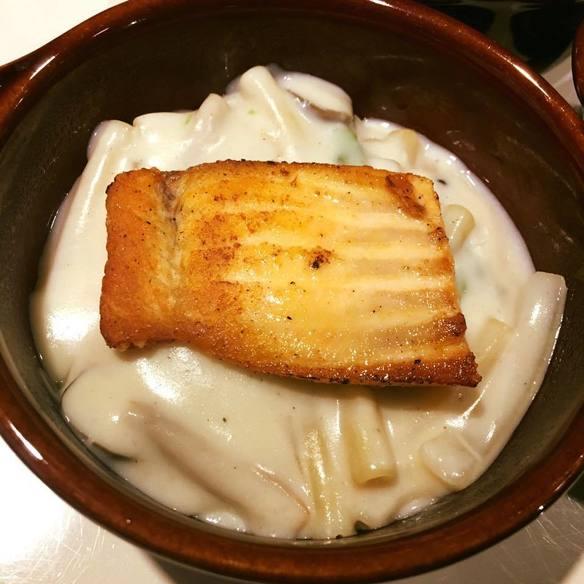 サーモンクリームグラタン