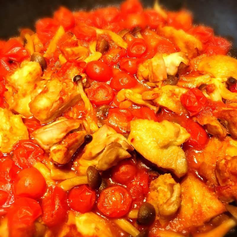 チキントマト煮(500)
