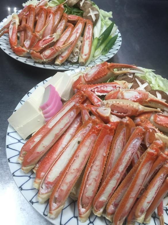 蟹すきコース