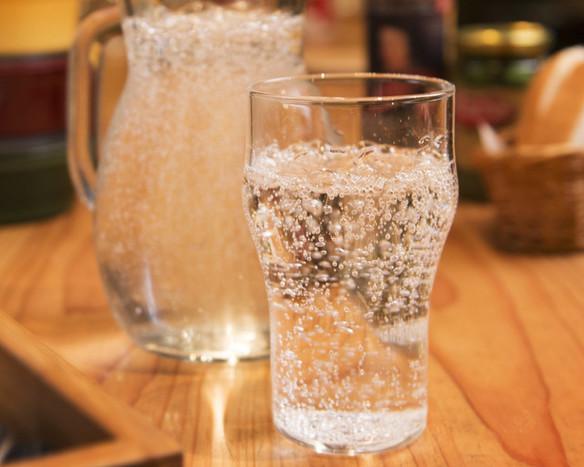 自家製の炭酸水