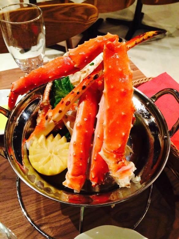 Cold(Hot)タラバ蟹ミディアム