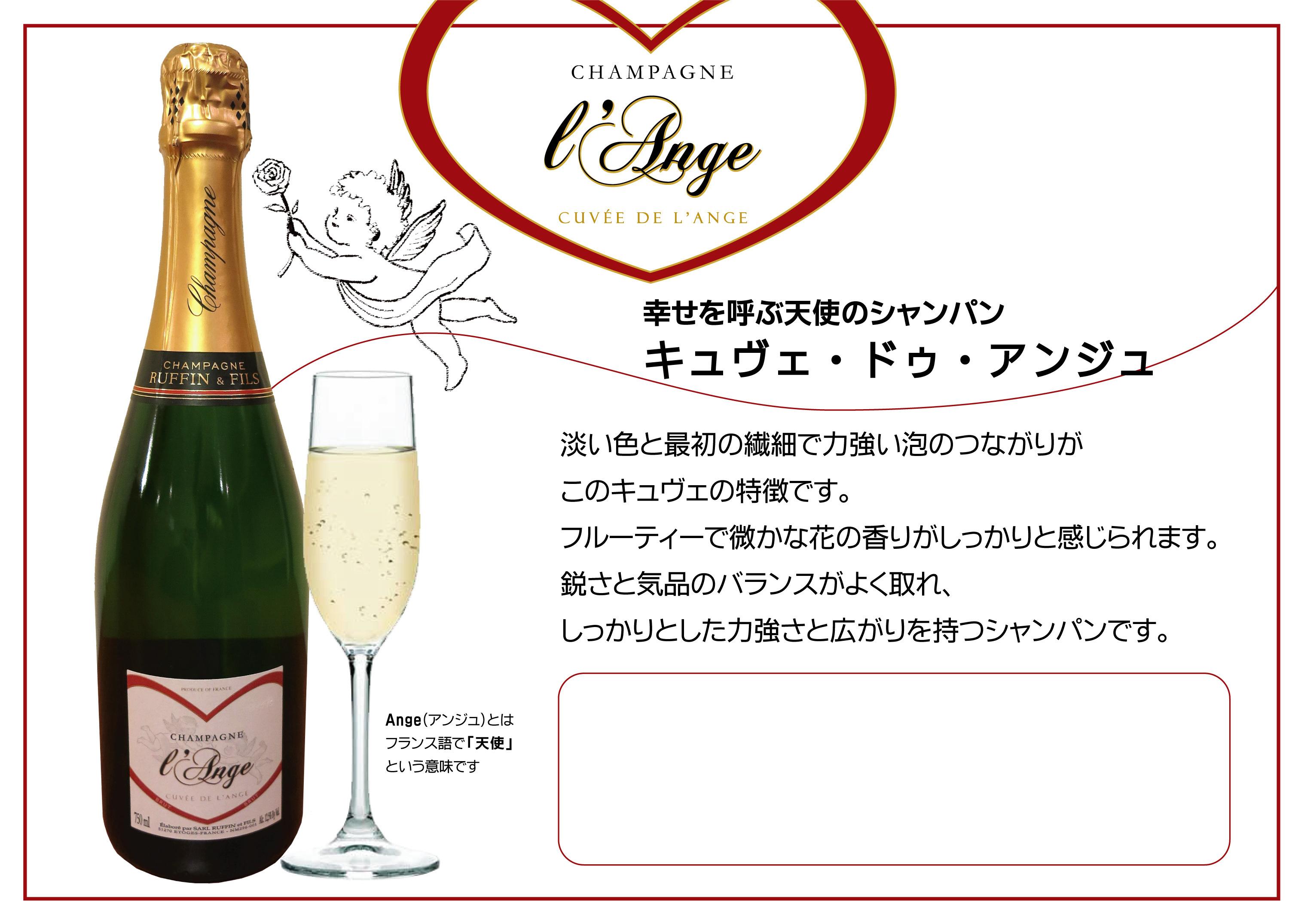 2017.4.1デビュー「天使のシャンパーニュ」〜キュヴェ ドゥ アンジュ〜