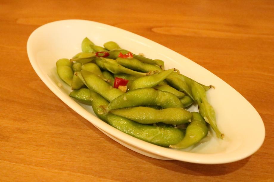 枝豆ペペロンチーノ(380円)