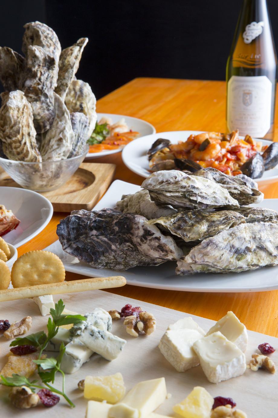 【2H飲み放題付き】名物牡蠣&ステーキも♪ファクトリーコース<全9品>