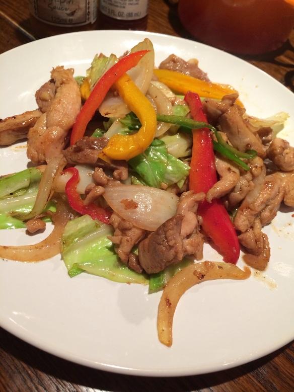 タイ風スパイシー「鶏肉と野菜のカレー炒め」