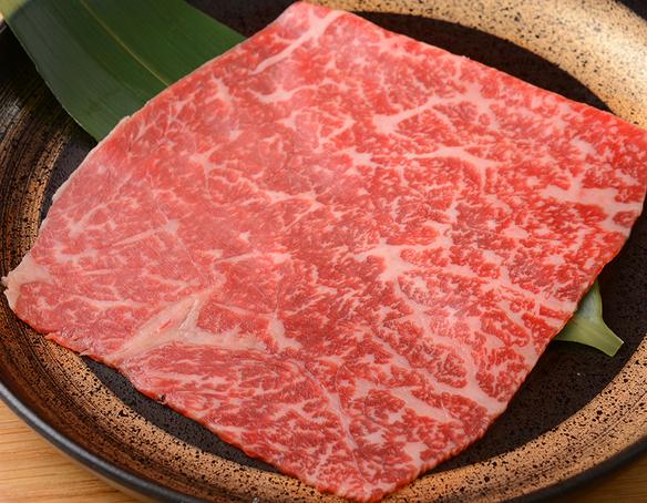 神戸牛モモ肉うす焼き 1枚焼
