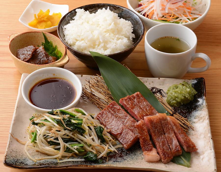神戸牛サーロインステーキセット
