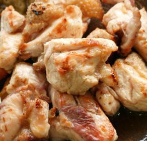 霧島地鶏の塩焼き(600円)