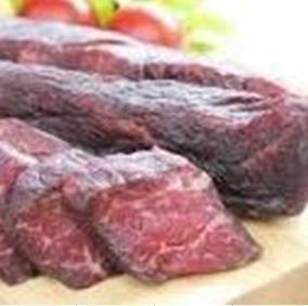 岡山県津山の干し肉(500円)