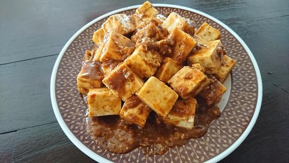 島豆腐の四川風麻婆豆腐
