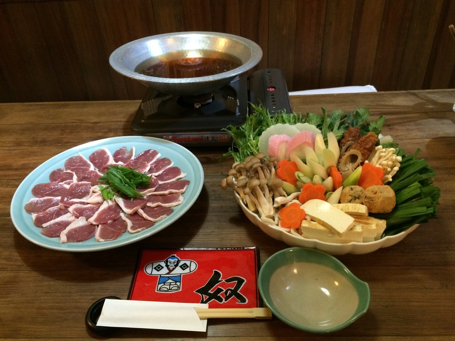 かも鍋コース(¥2700)