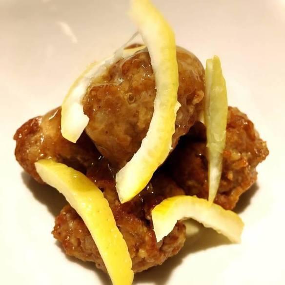 肉団子レモン甘酢