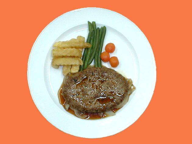 照焼きハンバーグステーキ