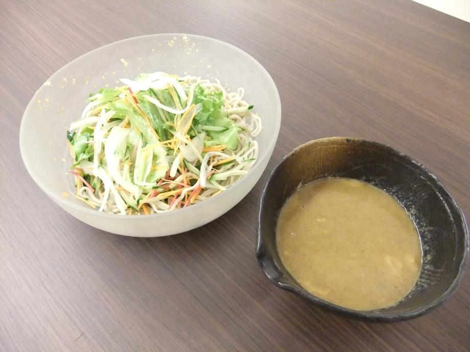 ごまサラダ蕎麦