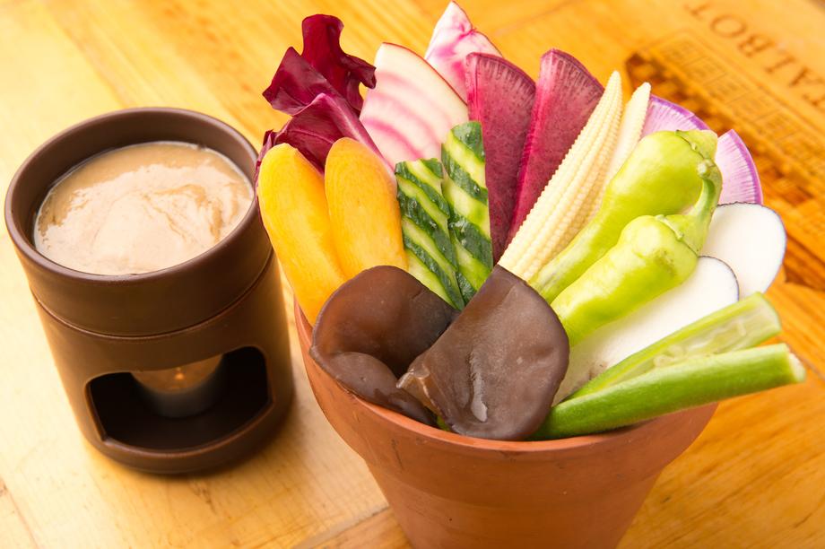 三浦野菜のバーニャカウダ(950)