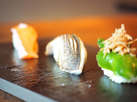 【今月の握り】秋刀魚のにぎり