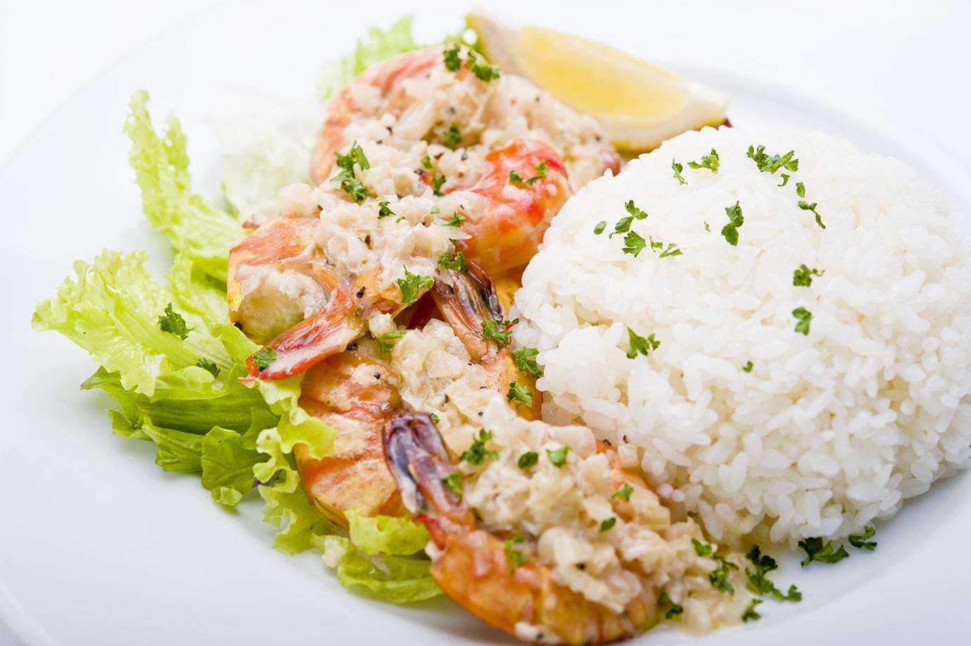 ハワイアンガーリックシュリンプ Hawaiian Garlic Shrimp