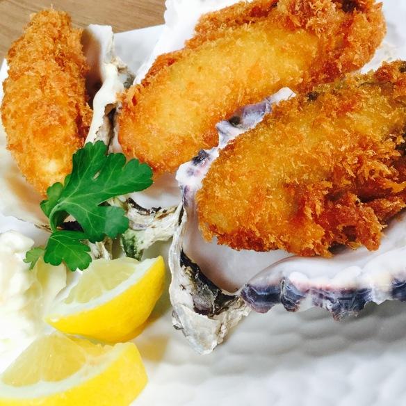 最高の牡蠣フライ