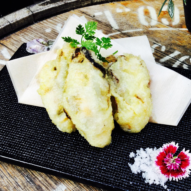 厚岸牡蠣の天ぷら