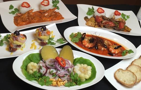 ペルー料理満喫ランチコース (要予約)