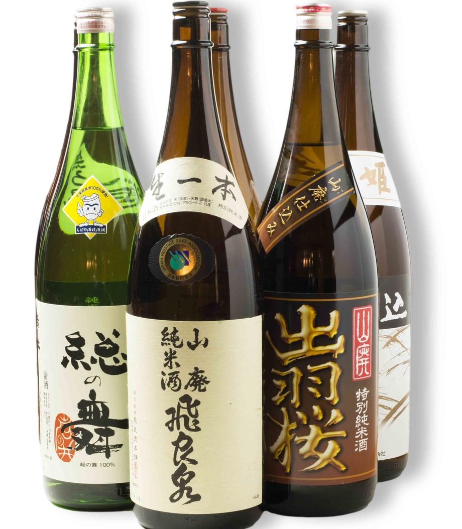 日本酒(一合 990円(税抜)~)