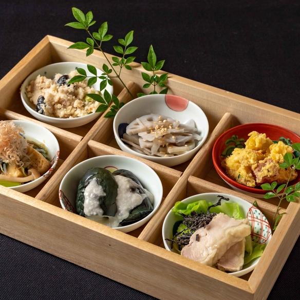 SHUNのいろいろ野菜のおばん菜  ※写真は...おばん菜 おまかせ盛り合わせ