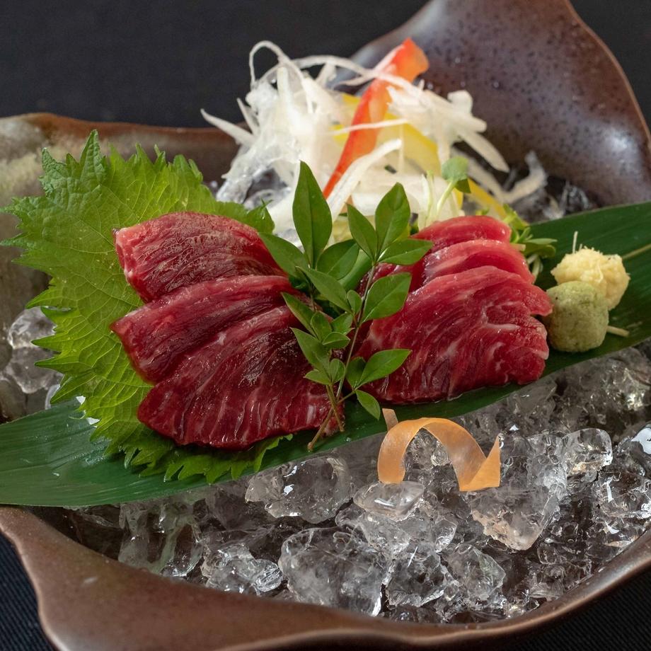 熊本県産 『極上 鮮馬肉刺し盛り合わせ』