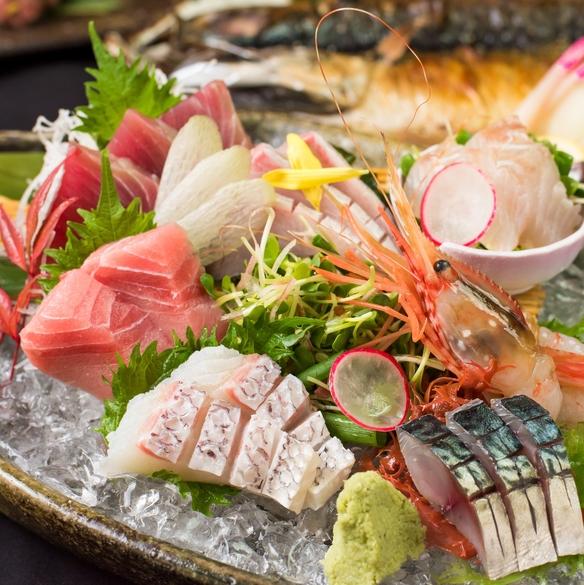 鮮魚盛合わせ