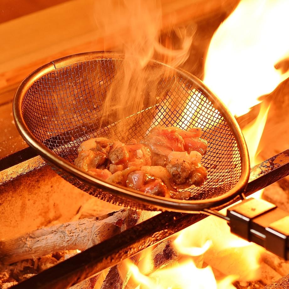 黒焼き ~備長炭で旨味と肉汁を…~(980円 (税抜))