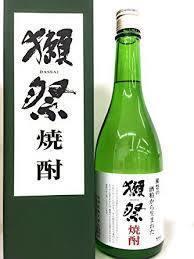 【限定酒】獺祭・だっさい 粕取り焼酎(800円)