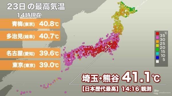 「最高気温記念日」の画像検索結果