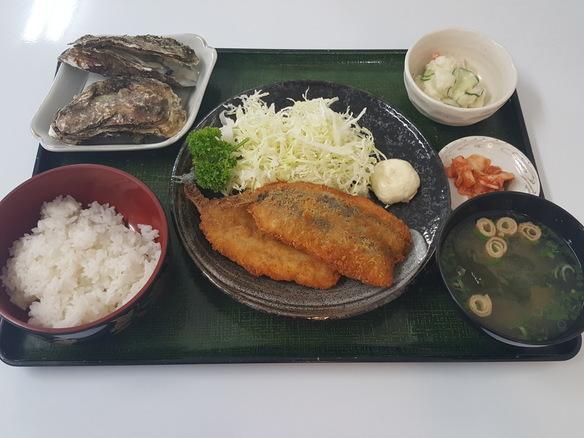日替り アジフライ定食(6月~10月)