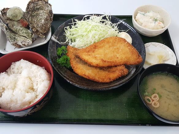 日替り 平目フライ定食(6月~10月)