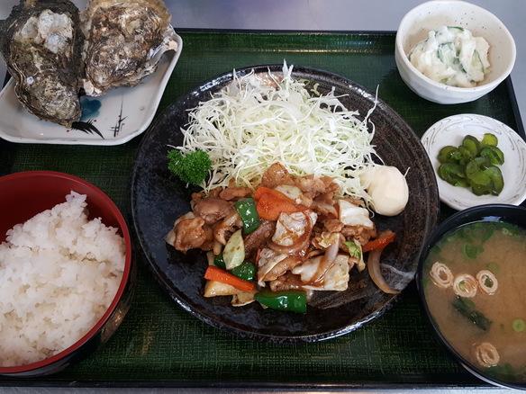 日替り 豚焼肉定食(6月~10月)