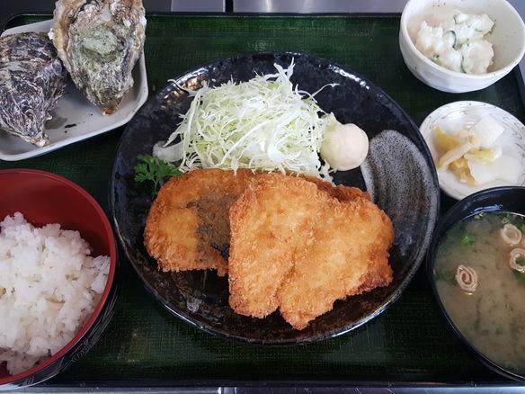 日替り サワラフライ定食(6月~10月)