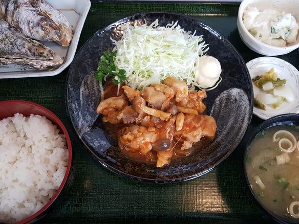 日替り 鶏のトマト煮込み定食(6月~10月)