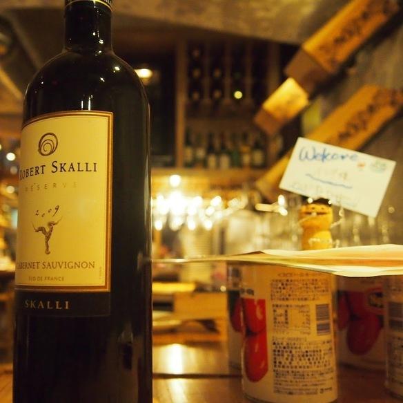 ドリンクはワインがメインですが、ビール・ハイボール・梅酒・ワインカクテルなどもご用意してます♥