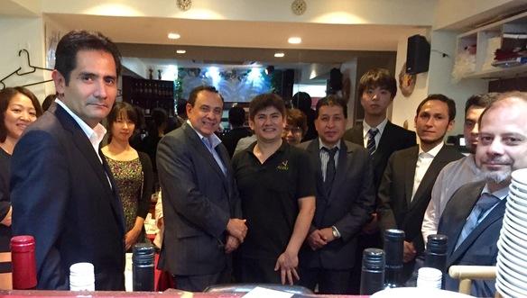 ペルー大使閣下はじめ、大使館の皆様にご利用頂きました!