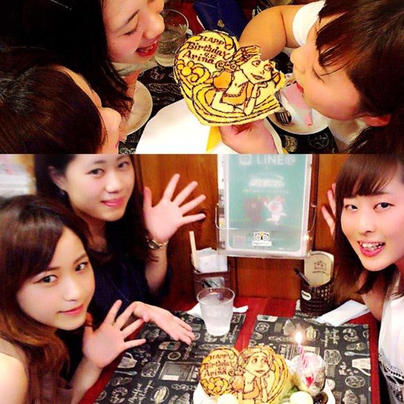 Arinaさん お誕生日会♪