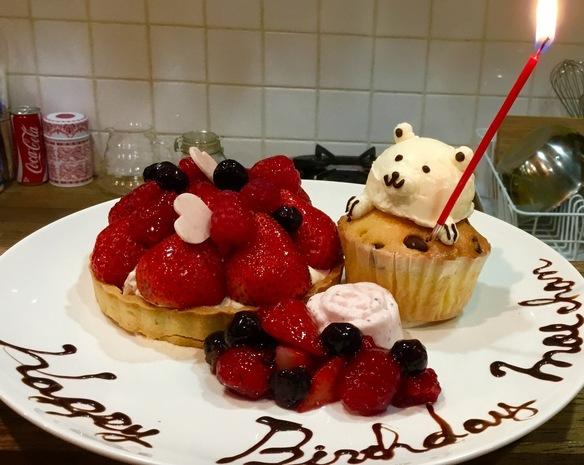 誕生日プレート第二弾です(*⁰▿⁰*)♡