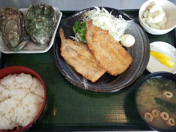日替り いわしのフライ定食(6月~10月)