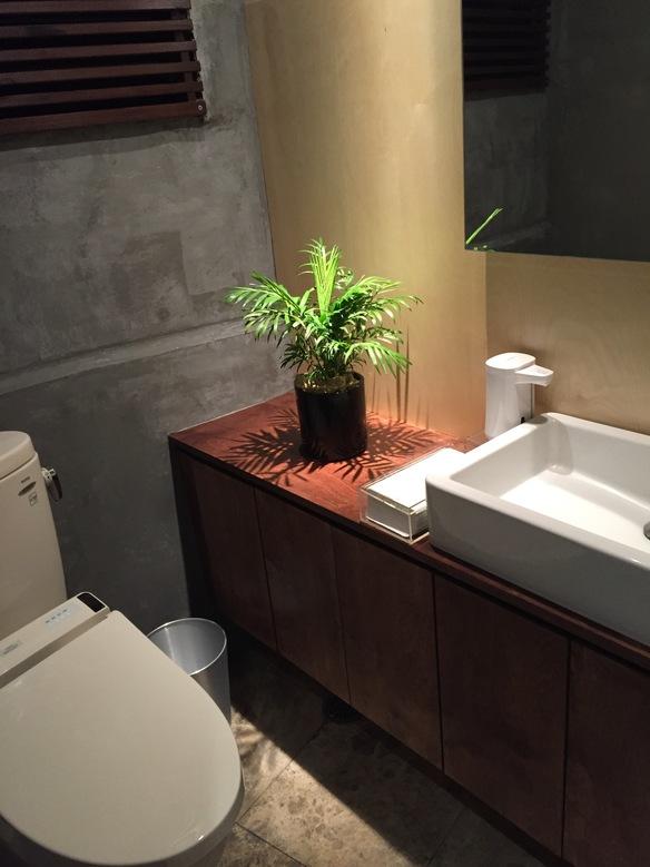 トイレも、清潔にしております。