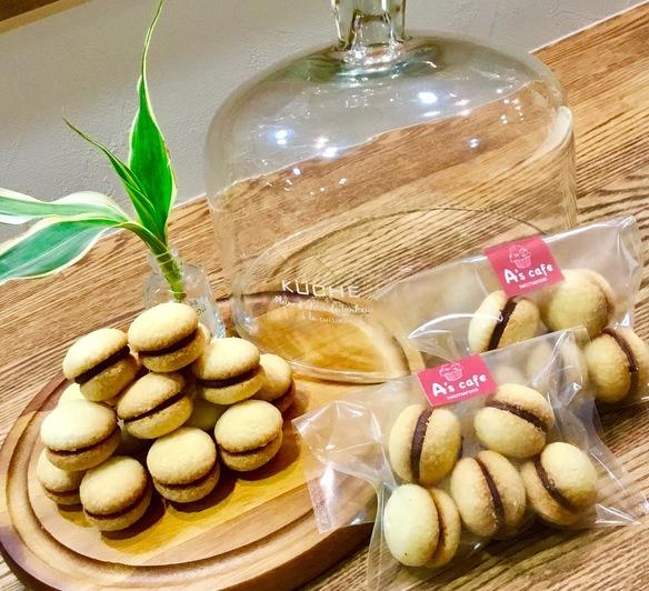 バーチ・ディ・ダーマ  貴婦人のキスという意味のイタリア菓子です(о´∀`о)/