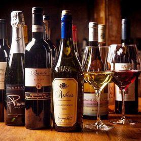 オーナー厳選 常時30種以上のワイン完備♪♪ 新宿 西新宿ワイン ワイン飲み放題 樽生ワイン スパークリング 女子会